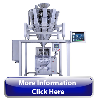 Rotary Combination Scale Filler With Form Fill Seal Bagger