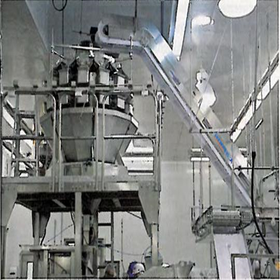 Rotary Combination Scale Filler with Incline Conveyor
