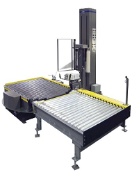 Two Station Automatic Conveyor Stretch Wrapper